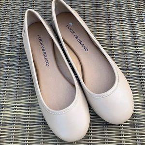 Lucky Brand | Tan Ballet Flats